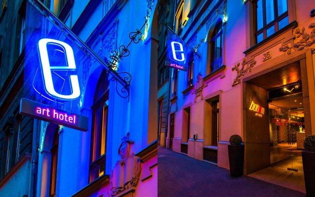 Bohem Art Hotel вид на фасад