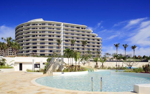 Hotel Monterey Okinawa Spa & Resort Центр Окинавы вид на фасад