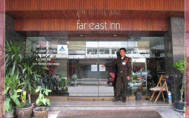 Отель Far East Inn Бангкок вид на фасад