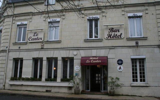 Отель Hôtel Le Canter Сомюр вид на фасад
