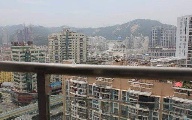 Отель Xiamen Mode Inn YuFa Branch Китай, Сямынь - отзывы, цены и фото номеров - забронировать отель Xiamen Mode Inn YuFa Branch онлайн балкон