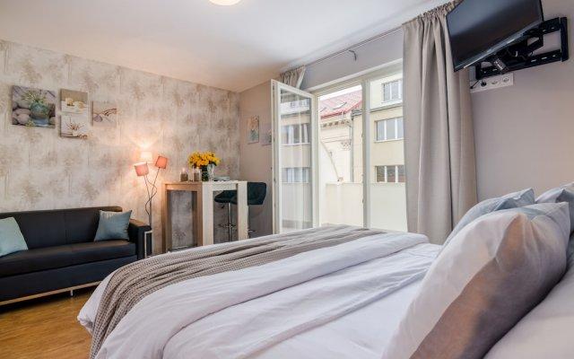 Апартаменты Terrace Apartment Prague комната для гостей