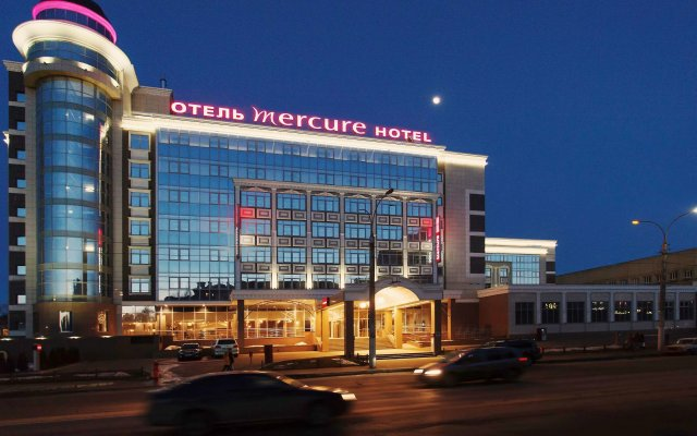 Гостиница Mercure Lipetsk Center вид на фасад