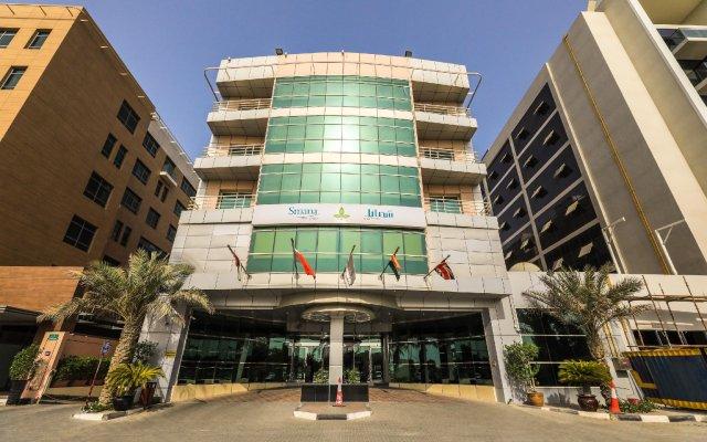 Smana Hotel Al Raffa Дубай вид на фасад