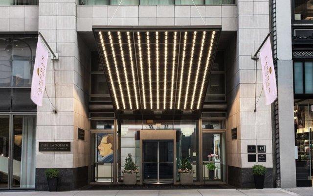 Отель The Langham, New York, Fifth Avenue США, Нью-Йорк - 8 отзывов об отеле, цены и фото номеров - забронировать отель The Langham, New York, Fifth Avenue онлайн вид на фасад