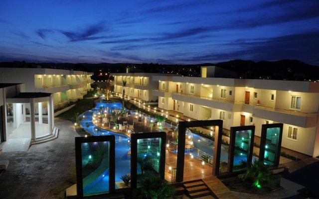 Отель Afandou Bay Resort Suites вид на фасад