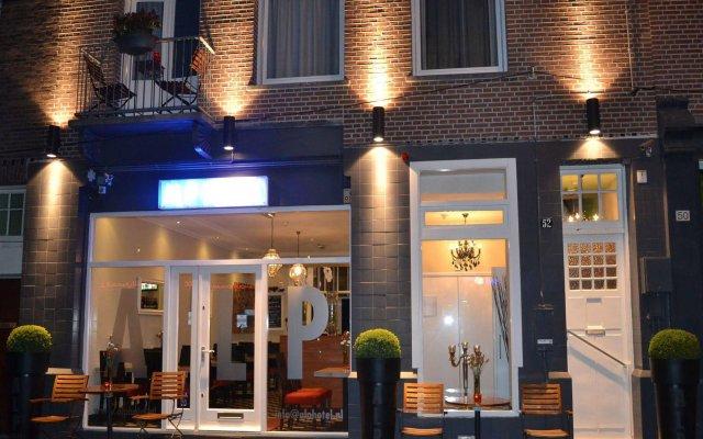 Alp Hotel Amsterdam Амстердам вид на фасад