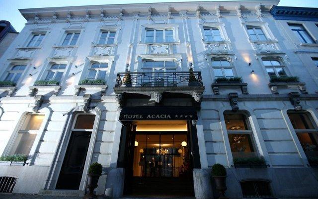 Отель Acacia Бельгия, Брюгге - 1 отзыв об отеле, цены и фото номеров - забронировать отель Acacia онлайн вид на фасад