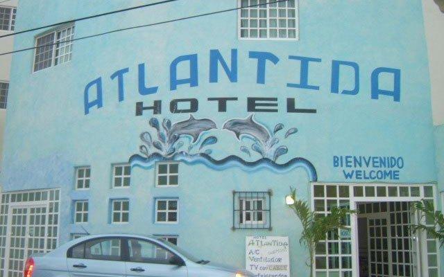 Отель Atlantida Мексика, Плая-дель-Кармен - отзывы, цены и фото номеров - забронировать отель Atlantida онлайн вид на фасад