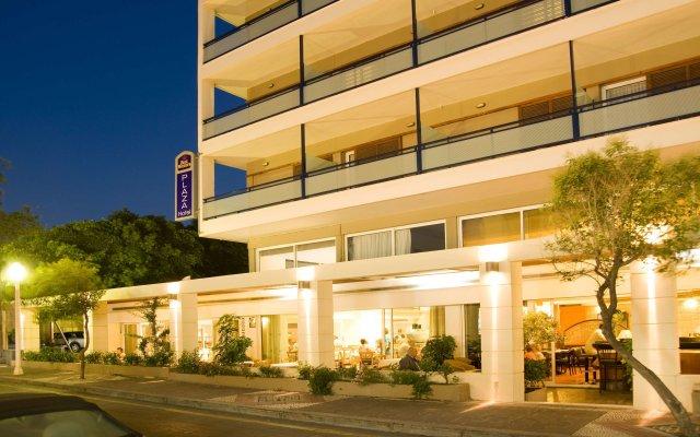 Best Western Hotel Plaza вид на фасад