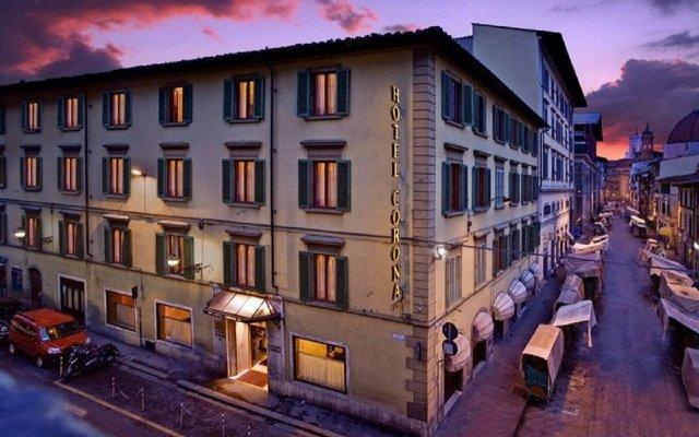 Отель Corona Ditalia Италия, Флоренция - 1 отзыв об отеле, цены и фото номеров - забронировать отель Corona Ditalia онлайн вид на фасад