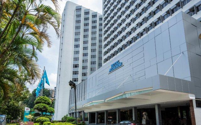 Отель Miramar Singapore вид на фасад
