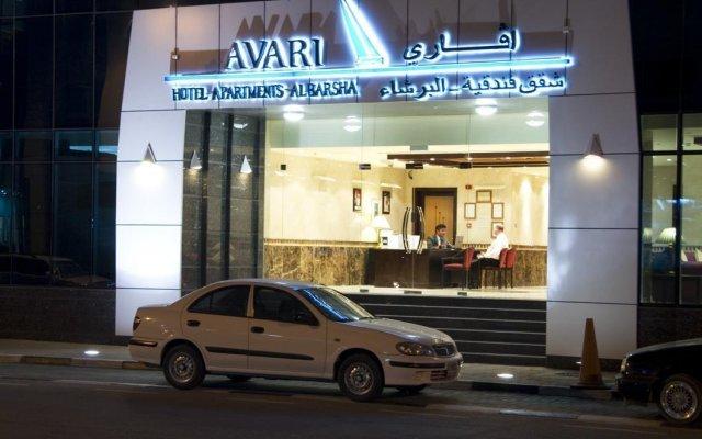 Avari Hotel Apartments вид на фасад