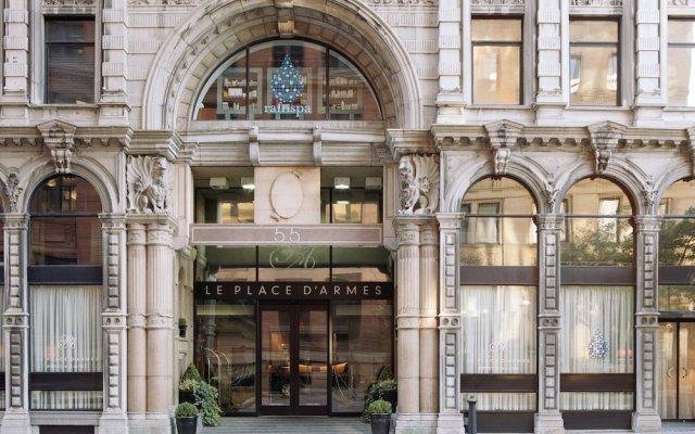 Отель Place DArmes Канада, Монреаль - отзывы, цены и фото номеров - забронировать отель Place DArmes онлайн вид на фасад