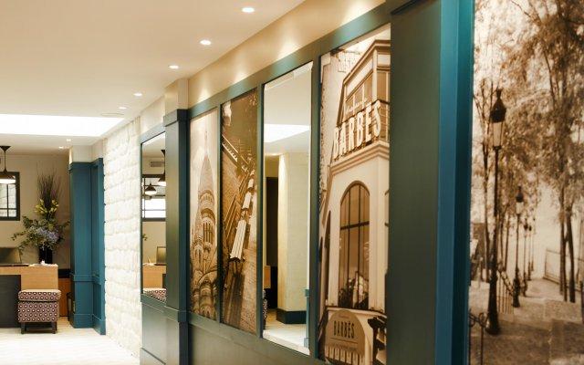Отель Les Matins De Paris вид на фасад
