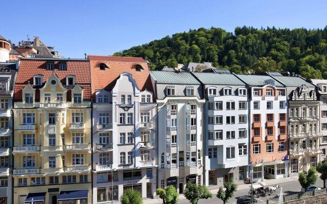 Отель Dvorak Spa & Wellness Карловы Вары вид на фасад