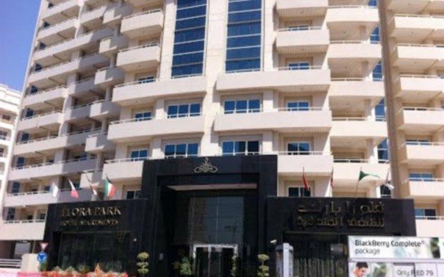 Flora Park Hotel Apartments вид на фасад