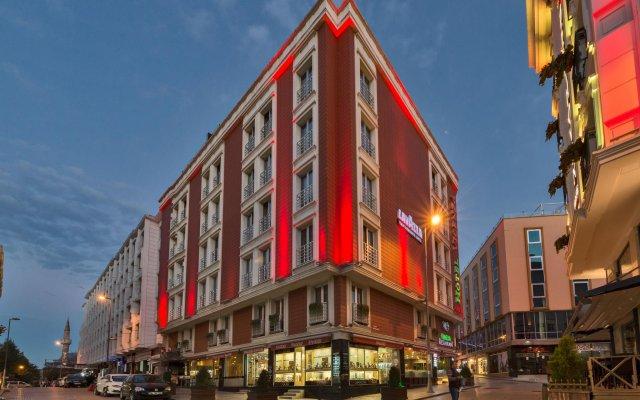 Отель Vicenza вид на фасад