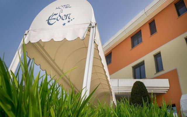 Отель Eden Mantova Италия, Кастель-д'Арио - отзывы, цены и фото номеров - забронировать отель Eden Mantova онлайн вид на фасад