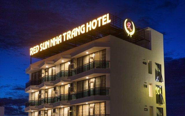 Отель Red Sun Nha Trang Hotel Вьетнам, Нячанг - отзывы, цены и фото номеров - забронировать отель Red Sun Nha Trang Hotel онлайн вид на фасад