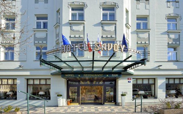 Отель Savoy Чехия, Прага - 5 отзывов об отеле, цены и фото номеров - забронировать отель Savoy онлайн вид на фасад
