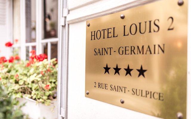 Отель Louis Ii Париж вид на фасад