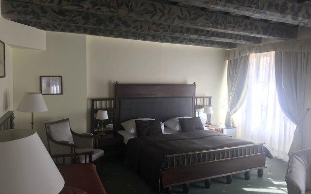 Hotel U Tri Pstrosu Прага комната для гостей