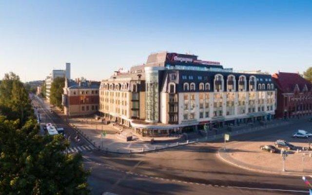 Гостиница Виктория в Выборге 9 отзывов об отеле, цены и фото номеров - забронировать гостиницу Виктория онлайн Выборг вид на фасад