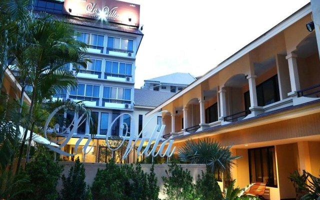 Hotel La Villa Khon Kaen вид на фасад