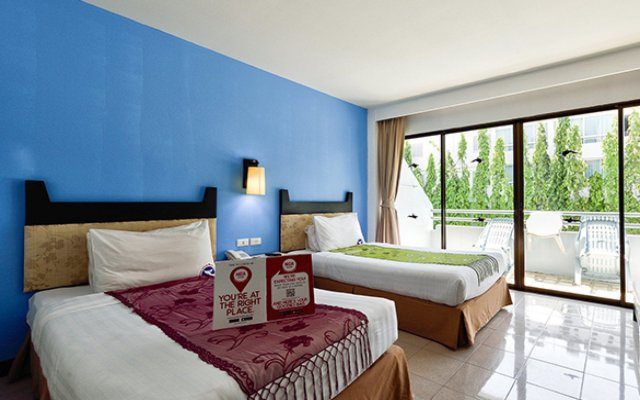 Отель NIDA Rooms Karon Viridian Beach комната для гостей