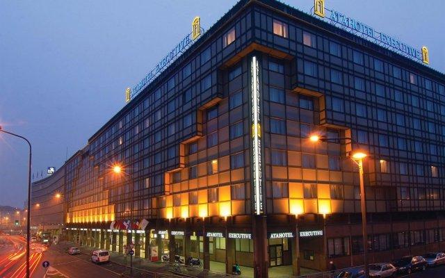 Отель Executive Италия, Милан - 1 отзыв об отеле, цены и фото номеров - забронировать отель Executive онлайн вид на фасад