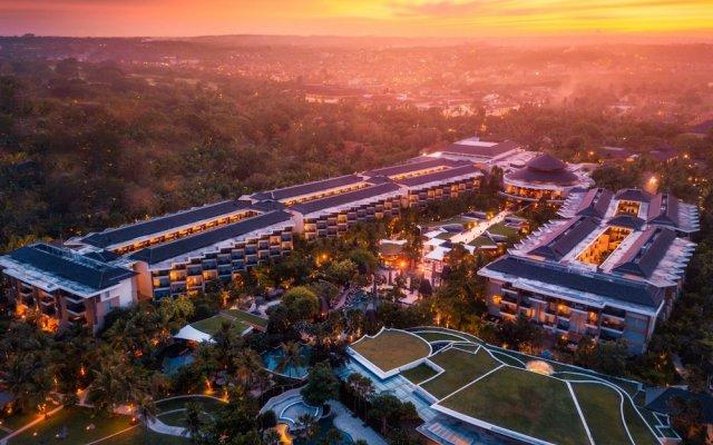 Отель Sofitel Bali Nusa Dua Beach Resort вид на фасад