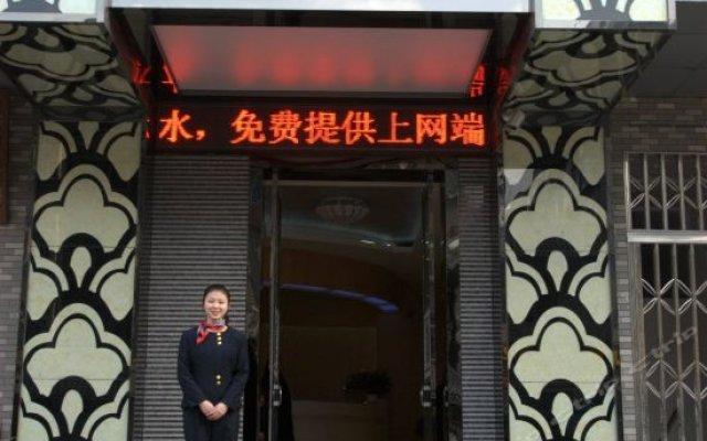 Отель Yiting Express Hotel Китай, Сиань - отзывы, цены и фото номеров - забронировать отель Yiting Express Hotel онлайн вид на фасад