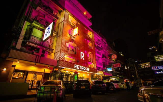 Отель Retro 39 Hotel Таиланд, Бангкок - отзывы, цены и фото номеров - забронировать отель Retro 39 Hotel онлайн вид на фасад