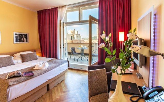 Отель Amarilis Чехия, Прага - 1 отзыв об отеле, цены и фото номеров - забронировать отель Amarilis онлайн комната для гостей
