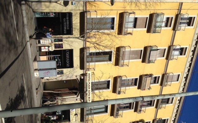 Отель Hostal Plaza Goya Bcn Барселона вид на фасад