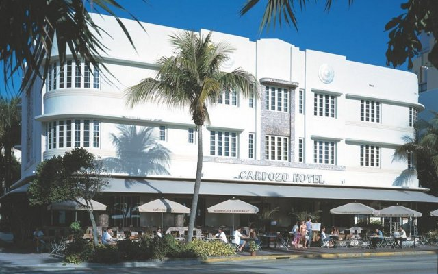 Cardozo Hotel вид на фасад