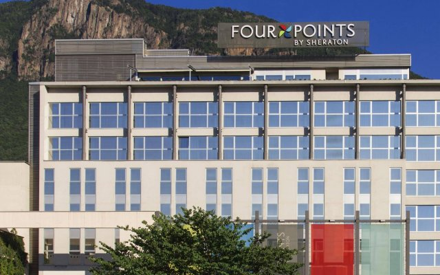 Отель Four Points by Sheraton Bolzano Больцано вид на фасад
