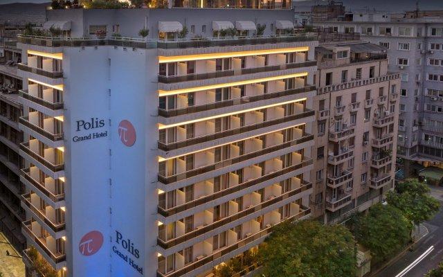Polis Grand Hotel вид на фасад