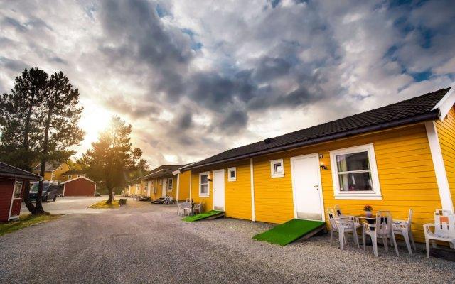 Отель Bergen Camping Park Берген вид на фасад