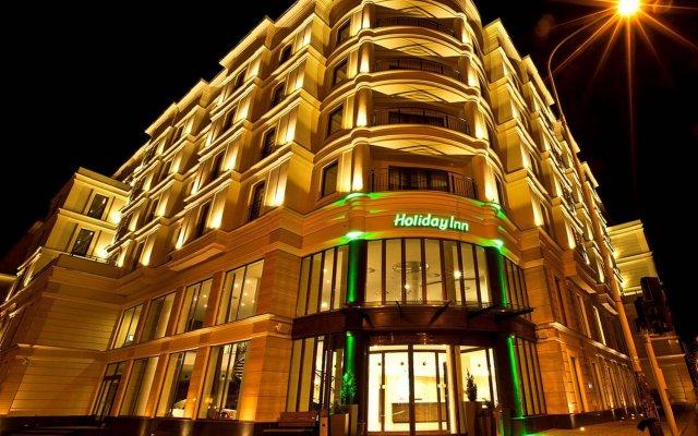 Отель Holiday Inn Łódź вид на фасад