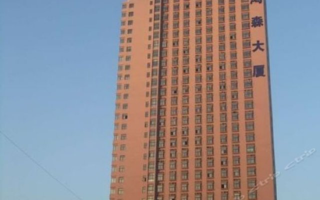 Zhengzhou Hongda Express Hotel вид на фасад