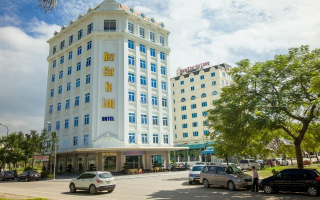 Muong Thanh Three Star Hotel Халонг вид на фасад
