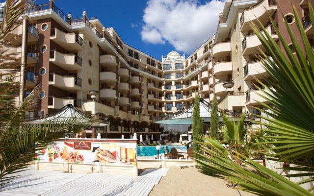Отель Golden Ina - Rumba Beach Солнечный берег вид на фасад