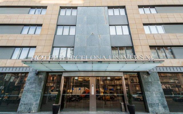 Отель Barcelona Universal Испания, Барселона - 4 отзыва об отеле, цены и фото номеров - забронировать отель Barcelona Universal онлайн вид на фасад