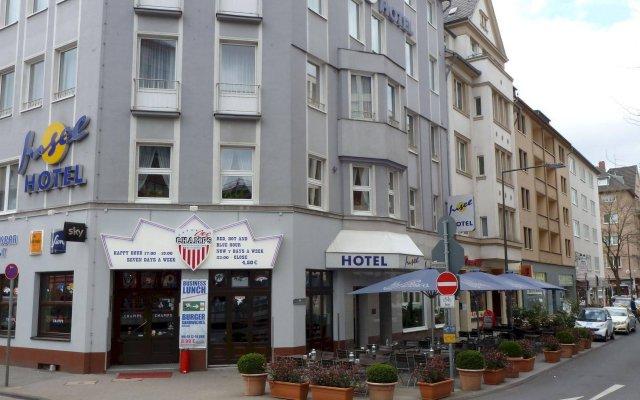 Отель Insel Hotel Германия, Кёльн - отзывы, цены и фото номеров - забронировать отель Insel Hotel онлайн вид на фасад