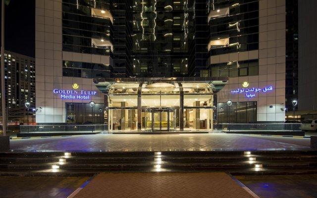 Отель Golden Tulip Al Thanyah вид на фасад
