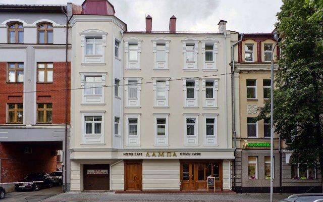 Hotel Lampa Казань вид на фасад