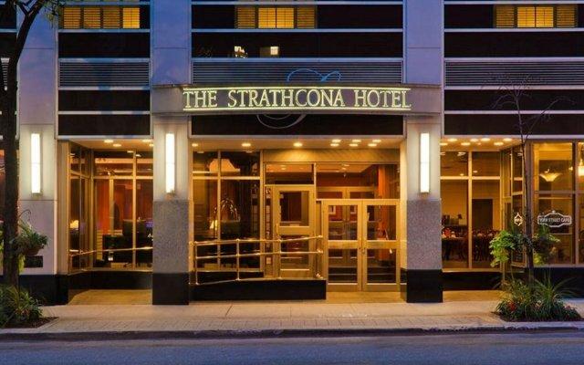 Отель The Strathcona Hotel Канада, Торонто - отзывы, цены и фото номеров - забронировать отель The Strathcona Hotel онлайн вид на фасад