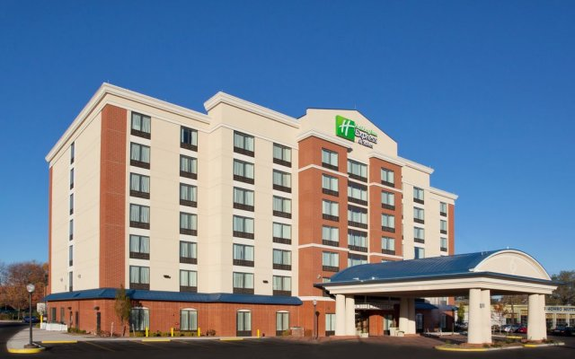 Holiday Inn Express Hotel & Suites Columbus Univ Area - Osu вид на фасад